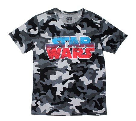 Camoflauge Logo - Star Wars T-shirt