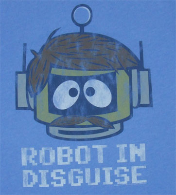 Robot In Disguise - Yo Gabba Gabba - Junk Food Men's T-shirt