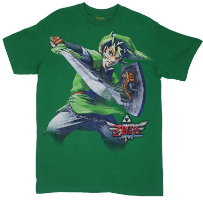 Big Link - Legend Of Zelda - Nintendo T-shirt