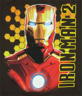 Bust Shot - Iron Man 2 Boys T-shirt