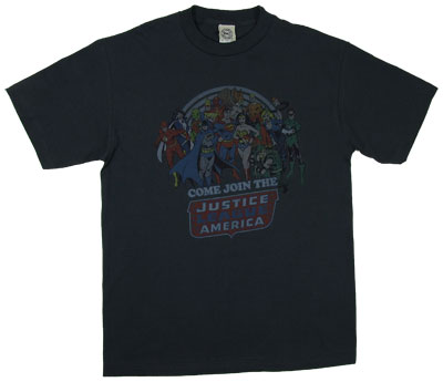 Come Join The Justice League - DC Comics T-shirt