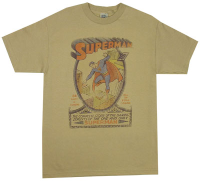 Superman Comic - DC Comics T-shirt
