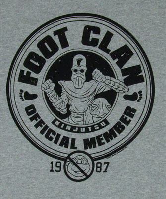 Foot Clan Official Member - Teenage Mutant Ninja Turtles T-shirt