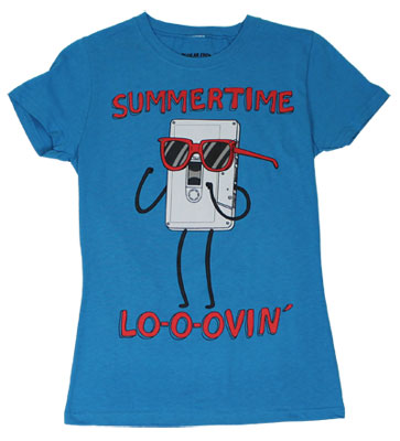 Summertime Lo-o-ovin - Regular Show Sheer Women's T-shirt