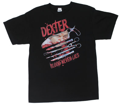 Blood Never Lies - Dexter T-shirt