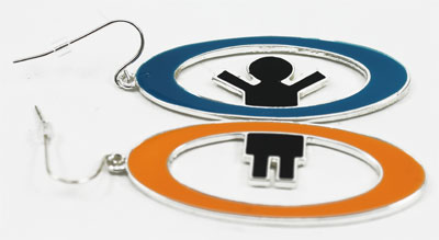 Portal 2 Earrings