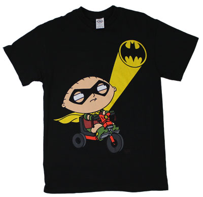 Rollin Robin - Stewie - Family Guy T-shirt