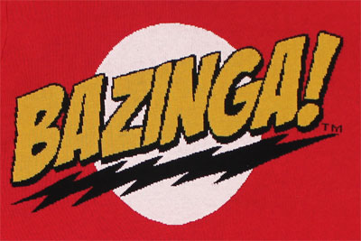 Bazinga! - Big Bang Theory Sweater