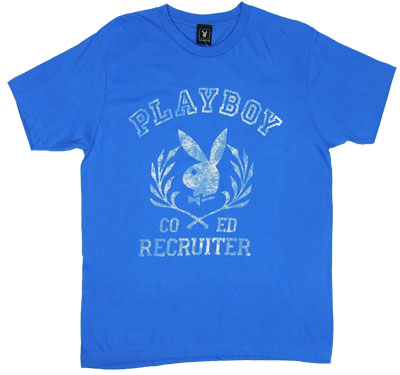 Co-Ed Recruiter - Playboy Sheer T-shirt