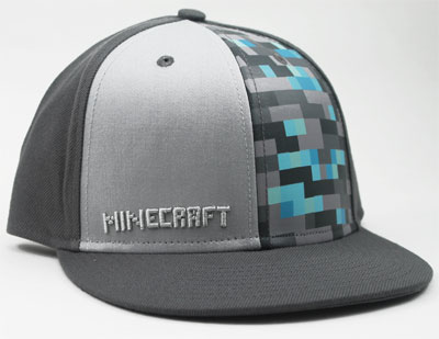 Diamond - Minecraft Baseball Cap