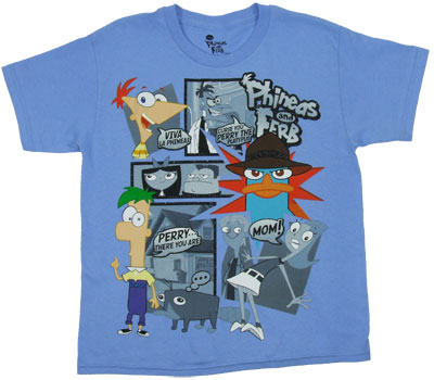 Viva La Phineas - Phineas And Ferb Boys T-shirt