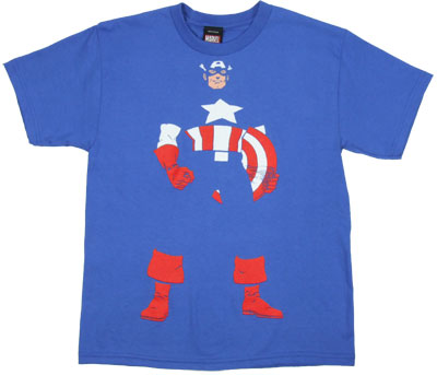 Invisible Captain - Marvel Comics Boys T-shirt