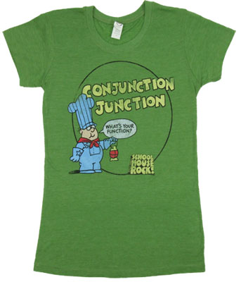 Conjunction Junction - Schoolhouse Rock Sheer Women&#039;s T-shirt