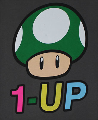 1-Up - Nintendo T-shirt