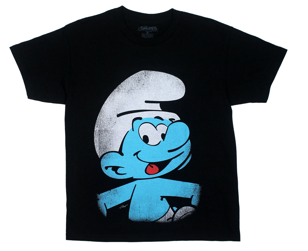 Faded Smurf - Smurfs Youth And Juvenile T-shirt