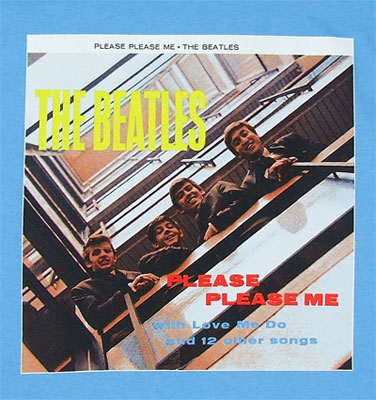 Please Please Me - Beatles T-shirt