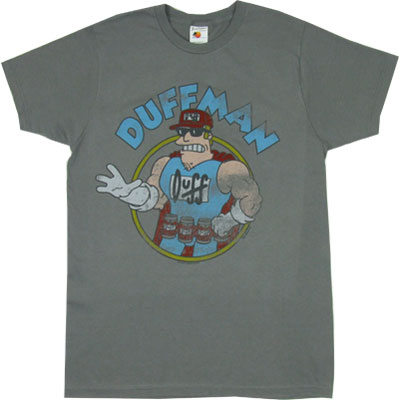 Duffman - Simpsons Sheer T-shirt