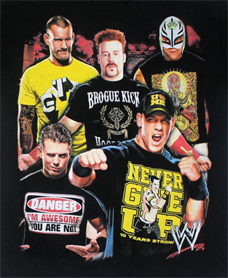 Wrestlers Unite - WWE Juvenile And Youth T-shirt
