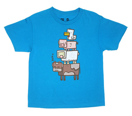 Animal Totem - Minecraft Youth T-shirt