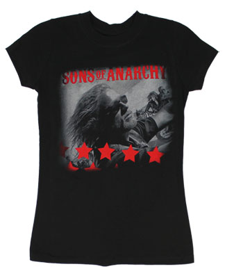 Jax Stars - Sons Of Anarchy Sheer Women's T-shirt