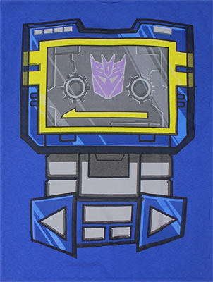 Soundwave Costume - Transformers T-shirt