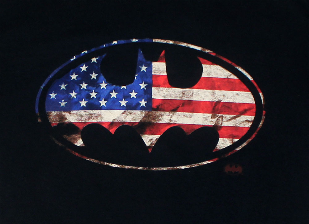 American Batman - DC Comics T-shirt