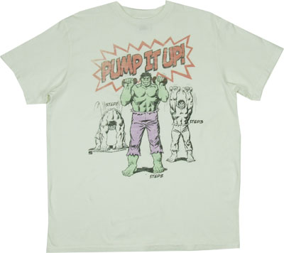 Pump It Up! - The Hulk - Junk Food Men's T-shirt