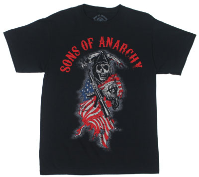 Reaper Flag - Sons Of Anachy T-shirt