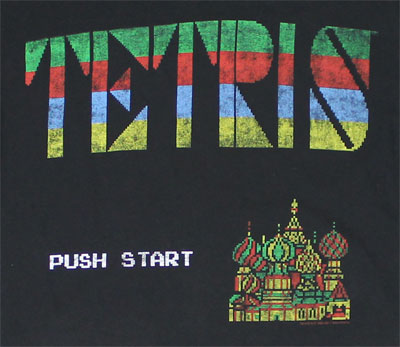Push Start - Tetris Sheer T-shirt