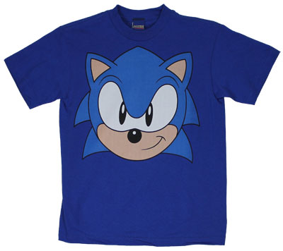 Sonic Face - Sonic The Hedgehog Youth T-shirt