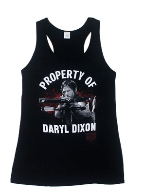 Property Of Daryl Dixon - Sons Of Anarchy Juniors Tank Top