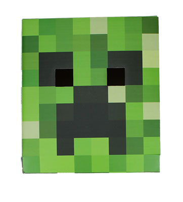 Creeper Head - Minecraft Mask