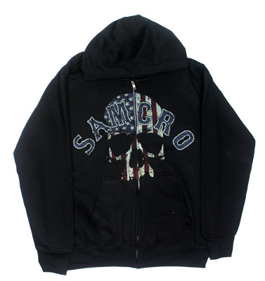 Samcro Americana - Sons Of Anarchy Hooded Sweatshirt