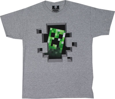 Creeper Inside - Minecraft Youth T-shirt