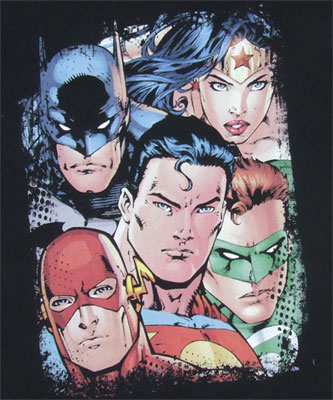 Up Close And Personal - Justice League - DC Comics T-shirt