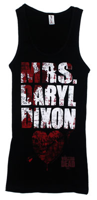 Mrs. Daryl Dixon - Walking Dead Juniors Tank Top