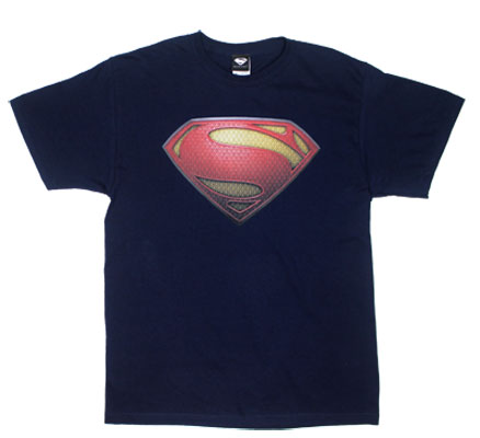 Superman Logo - Man Of Steel T-shirt