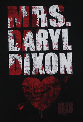 Mrs. Daryl Dixon - Walking Dead Juniors T-shirt