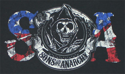 American Anarchy - Sons Of Anarchy T-shirt