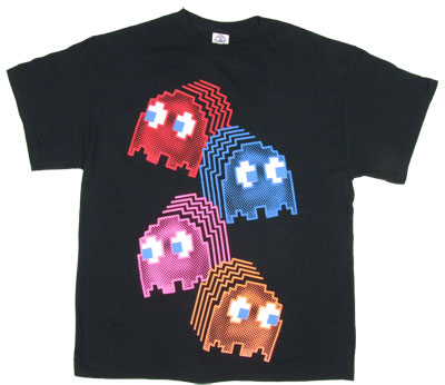 Neon Ghosts - Pac-Man T-shirt