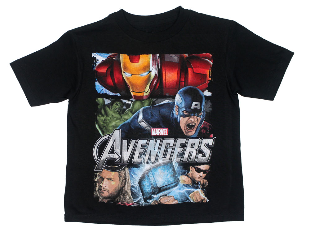 Movie Stars - Avengers Juvenile T-shirt