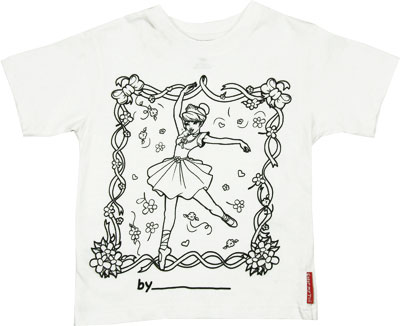 Ballerina - Color My Tee T-shirt