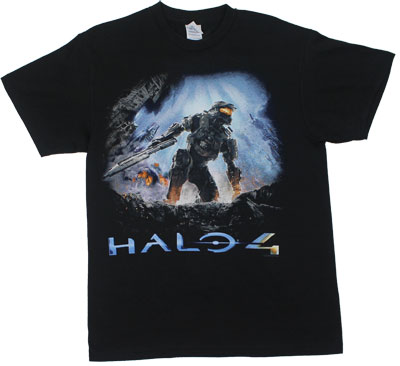 Cover Art - Halo 4 T-shirt