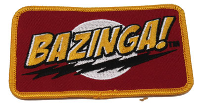 Bazinga! - Big Bang Theory Patch
