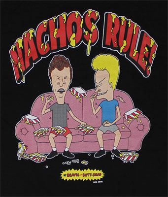 Nachos Rule - Beavis And Butthead T-shirt