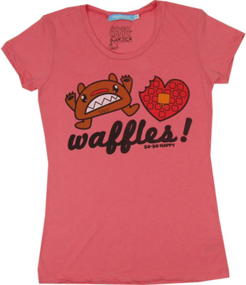 Waffles! - So-So Happy Sheer Women's T-shirt