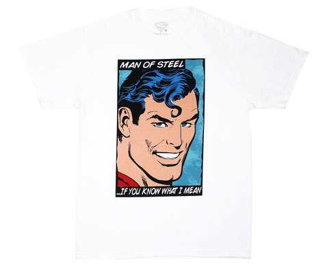 If You Know What I Mean - Superman - DC Comics T-shirt