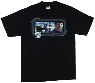 On The Bridge - Star Trek Movie T-shirt