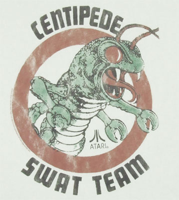 Centipede Swat Team - Junk Food Men's T-shirt
