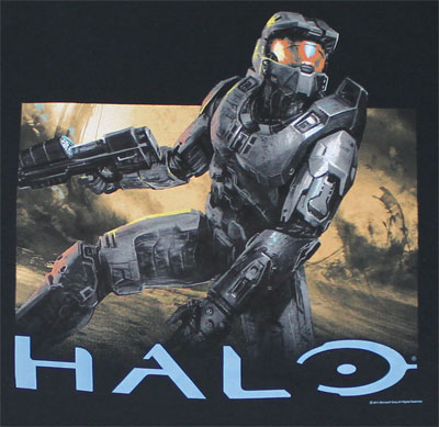 Lone Soldier - Halo T-shirt